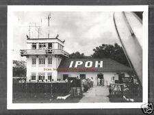 Ipoh photo Airport Control Tower People Perak Malaysia 50s