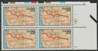 Scott# 2747 - 1993 Commemoratives - 29 cents Oregon Trail Plate Block