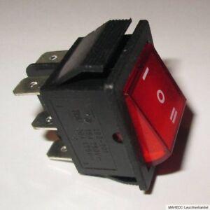 Einbau Geräte Schalter Umschalter Wippe Wechselschalter Wechsler 2-Polig 230V