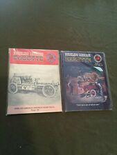 Lot of 2 Vintage Horseless Carriage Gazette Magazines Vole 20 #1 & #2 1958