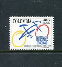 Colombia 1117, MNH,  Bogota to Boyaca World Cicling Championship 1995. x23486