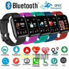 2021 Touch Smart Watch Women Men Heart Rate For Phone Android IOS Waterproof