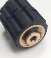 Pressure Washer Adaptors Fits Many Makes Inc Karcher,ETC  22mm Female & Male