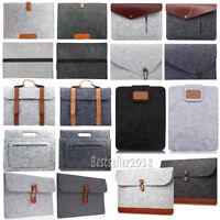 "For MacBook Air Pro 11"" 13"" 15"" Woolen Envelope Laptop Bag Cover Sleeve Case New"