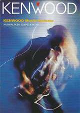 Kenwood Katalog Prospekt UD-952 M-58/M UD-752 UD-552/502 UD-302 M-470 MS-D7
