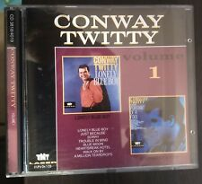 Conway Twitty-Volume 1-Lonely Blue Boy/Portrait Of A Fool 2 LP's on 1 CD NM