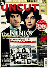 Uncut Issue 201 (February 2014) (inc. CD) Kinks cover - used magazine