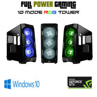 6 CORE Custom Gaming Computer PC Geforce GTX 1060 PLAY ALL NEW GAMES GOOD FPS
