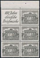 BERLIN 1949, Heftchenblatt 3 B, tadellos postfrisch, Mi. 40,-
