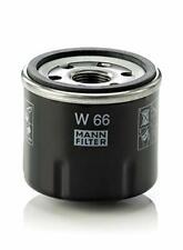 MANN-FILTER W 66 Oil Filter, for Cars