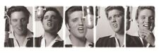 ELVIS PRESLEY ~ STUDIO SINGING POSES ~ 12x36 SLIM SIZE MUSIC POSTER ~ NEW/ROLLED