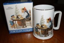 "Norman Rockwell Collector's Cup Mug ~ ""For A Good Boy"" ~ New In Box"