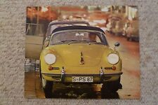 1964 Porsche 356-B Cabriolet Showroom Advertising Sales Poster RARE Awesome L@@K