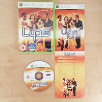 LIPS MICROSOFT XBOX 360 PAL COMPLETE WITH MANUAL FREE P&P
