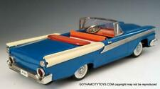 1959 Nm 11 inch Ford Fairlane 500 2 Door Convertible-Tin Friction Car by Yachio