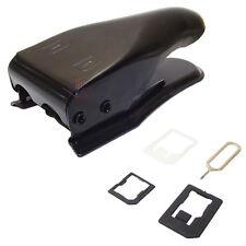 TAGLIA SIM DUAL CUTTER TAGLIERINA DOPPIA MICRO NANO SIMCARD ADATTATORI IPHONE 5