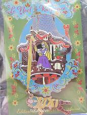 Disney DLP Christmas of Rapunzel Rapunzel Tower Jumbo Pin