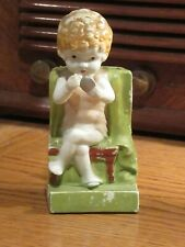 BATHING BEAUTY TOOTHBRUSH HOLDER - 1930s -  vibrant and wonderful condition
