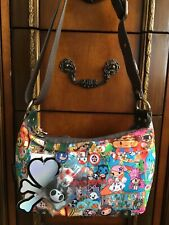 BRAND NEW W/TAGS!  TOKIDOKI FOR LESPORTSAC, CARNIVAL, SORRISO CROSSBODY BAG