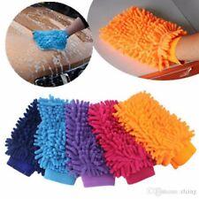 Microfiber Wash Mitt Car Wash Cleaning Glove Dual Sided - Green