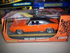 """Pioneer/Scalextric Rare 1968 Dodge """"Bengal"""" Charger R/T NMIB"""