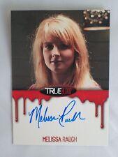 True Blood Autograph Card Melissa Rauch as Summer Rittenhouse Premiere Auto