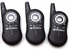 3 Motorola TalkAbout MA130CA AAA Compact FRS GMRS 2-WAY Radios Walkie Talkie
