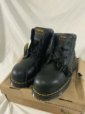 Dr Martens Industrial Steel Toe Cap Boots UK Size 10 Icon 7B09 SSF NEW!!