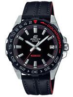 NEU Casio Schwarz Herren Armbanduhr Edifice EFV-120BL-1AVUEF