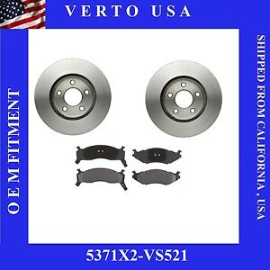 Front Brake Rotors Pads For Chrysler , Dodge , Plymouth Base On Fitment Chart