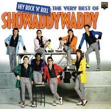 HEY ROCK 'N' ROLL - THE VERY BEST OF SHOWADDYWADDY - 24 TRACKS - RARE CD