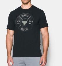The Rock Project X UA Under Armour Brahma Bull t-shirt Mens Medium Humble Hungry