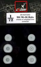 Armory Models 1/72 MIL Mi-26 HALO WEIGHTED WHEEL SET Resin Set
