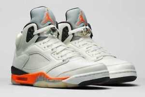 Nike Air Jordan 5 Orange Blaze DC1060-100 Men US 7 - 12