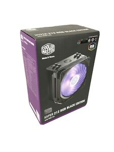 Cooler Master Hyper 212 RGB Black Edition CPU Fan