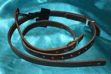 Morgan Monroe Belt Leather Mandolin Strap, Brown, MMS-LBR