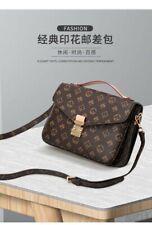 Handbag Purse Fashion Luxury Women Shoulder Cross Body Brown Leather Bag