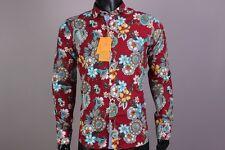 New Amazing  Color Button-Front Etro Casual Men's Shirt Size 42(L)