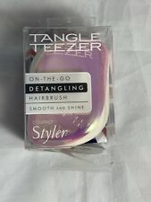 Tangle Teezer Brush Compact Detangling Hairbrush Styler Rose Gold [Damaged Box]