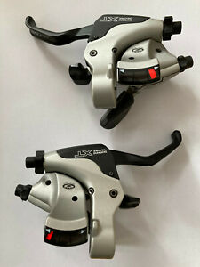 Shimano Deore XT ST-M750 3x9 Brems und Schalthebel Kombination, Retro, V-Brake