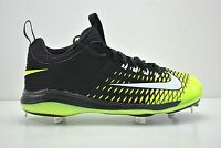 Nike 807133-017 Men's Trout 2 Pro Metal Baseball Cleats - Black/Volt - BRAND NEW
