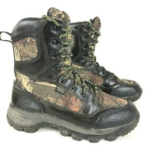 Irish Setter By Red Wings Hunt Hunting Boots Mens 8.5M Camo Leather 2852