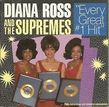 Diana Ross & The Supremes: Every Great #1 Hit        CD