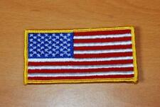 """AMERICAN FLAG PATCH 3-3/4"""" x 1-7/8"""""""