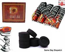 More details for shisha hookah charcoal bakhoor incense burner coal tablets for nakhla uk seller