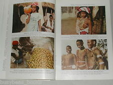 1941 magazine articles about TIMBUKTU, French West Africa, color photos, natives