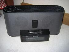 Sony Dream Machine Am/Fm Clock Radio w/iPod Dock Model 1CF-C1iP MK2-cracked lens