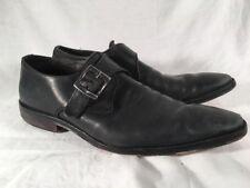 Mens To Boot New York Black Monkstrap Dress Shoes Size 10
