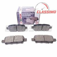 Rear Brake Pads for NISSAN QASHQAI Mk 1 J10 + X-TRAIL T30 T31 + JUKE + CUBE