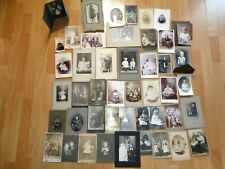 45 antique cabinet & other photos nearly all babies and children nostalgic decor